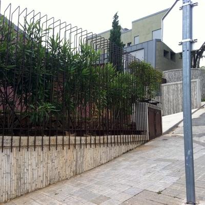 Acondicionamiento exterior de vivienda unifamiliar aislada en Gualba. Barcelona.