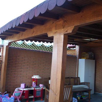 acondicionamiento porche