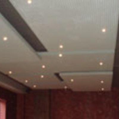 paneles absorbentes techo restaurante