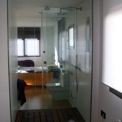 Acristalamiento de ducha.