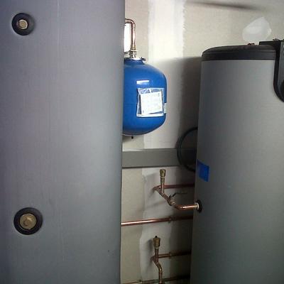acumulador ACS solar