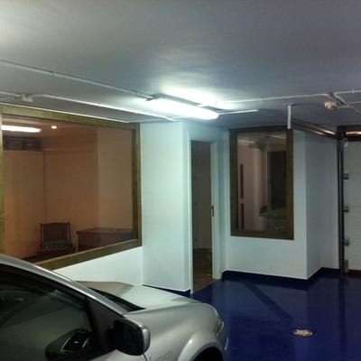Adaptación de semi-sótano a garaje y apartamento. 1
