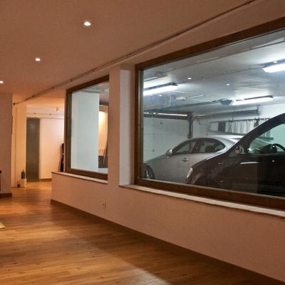 Adaptación de semi-sótano a garaje y apartamento. 2