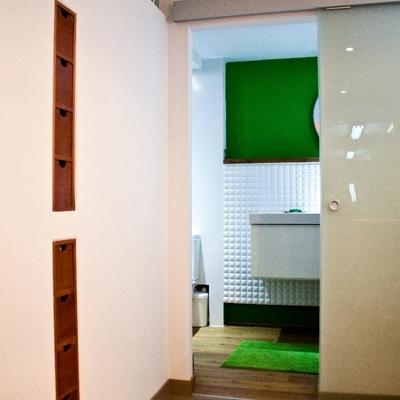 Adaptación de semi-sótano a garaje y apartamento. 4