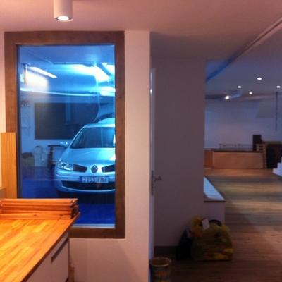 Adaptación de semi-sótano a garaje y apartamento. 6