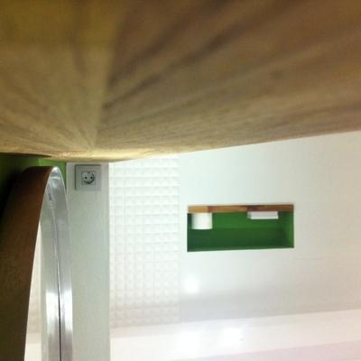Adaptación de semi-sótano a garaje y apartamento. 8