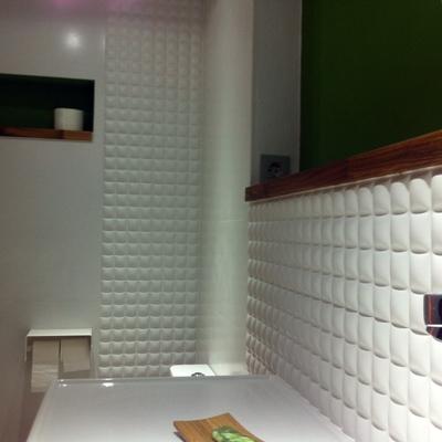 Adaptación de semi-sótano a garaje y apartamento. 9