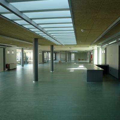 adecución de local como biblioteca púbica. Ansoáin - Navarra