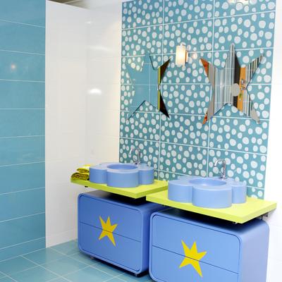 Agatha Ruiz de la Prada, muebles de baño