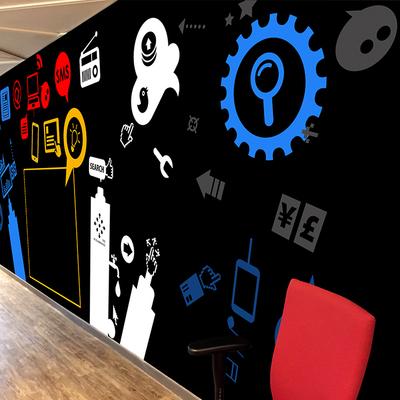 Mural para agencia de publicidad