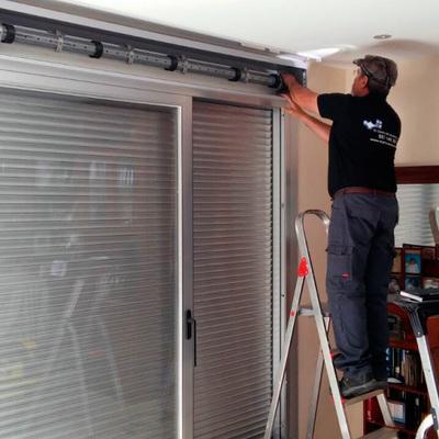 Instalación de persianas de aluminio y PVC