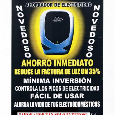 AHORRADOR DE ENERGIA
