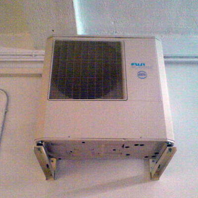 Aire condicionado conductos vistos