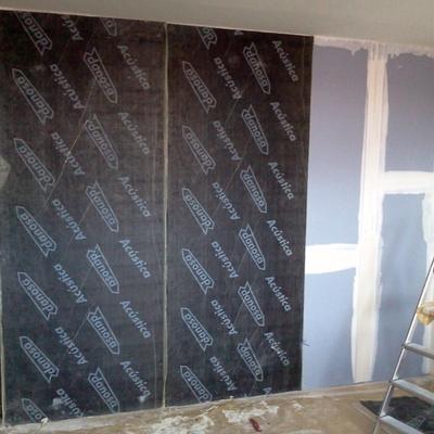 Aislamiento acústico de paredes en vivienda