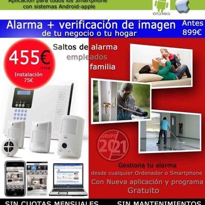 Alarma con imágenes