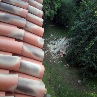 aleros con tejado nuevo