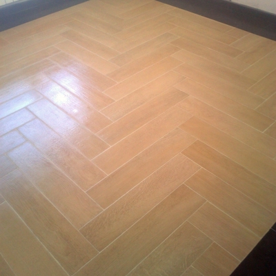 alfombra de gres imitacin madera