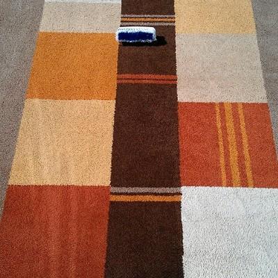 alfombra despues de la limpieza