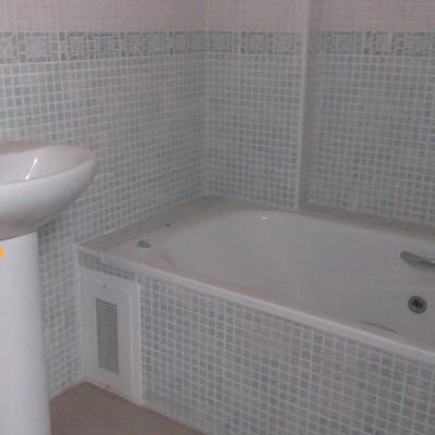 Alicatado y cambio bañera