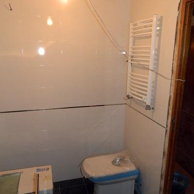 alicatado y solado en baño