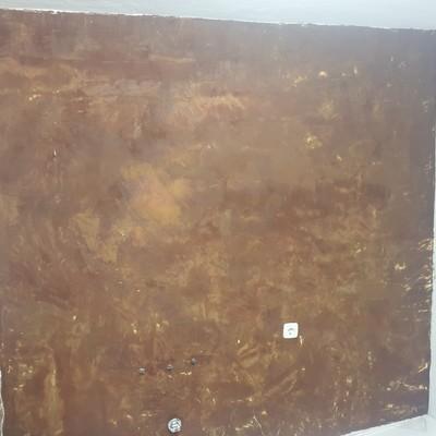 Alisado de pared y posterior pintado a estilo de llaneado.
