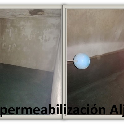 Impermelabilización de Aljibe