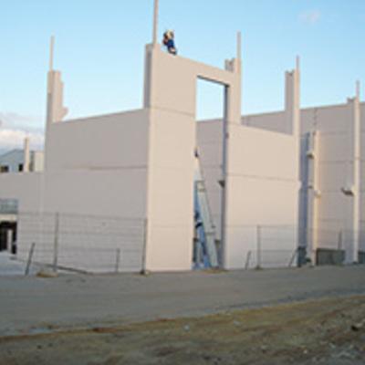 Nave industrial prefabricada