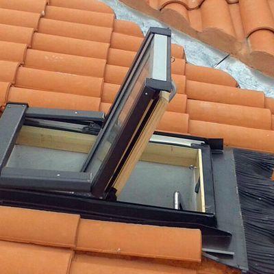 Colocación de ventana velux