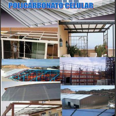 ALUMINIOS ABAD; Cerramientos con techo policarbonato