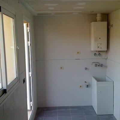 Ampliacion de cocina a lavadero