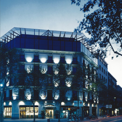 Ampliación Hotel Condes de Barcelona, Passeig de Gracia