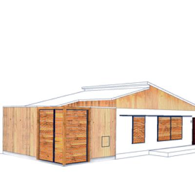 Ampliación de una vivienda
