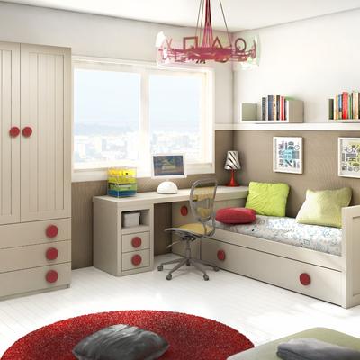 Amueblamiento de dormitorio juvenil