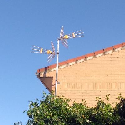 Antenas en chalet