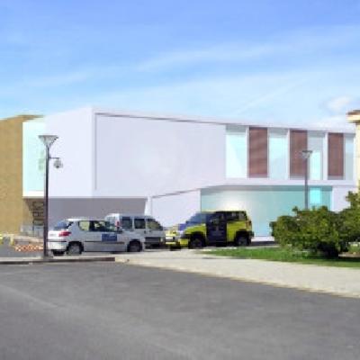 Anteproyecto edificio oficinas