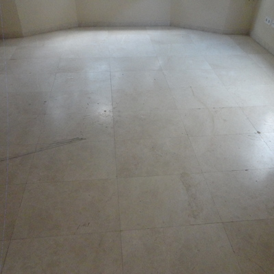 Suelo de mármol (antes)