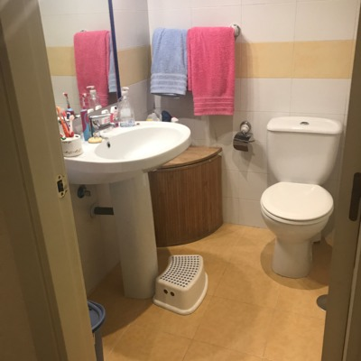 Reforma de baño en Pinto ( antes )