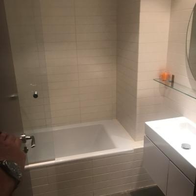 Reforma de baño en un apartamento en Madrid ( antes )