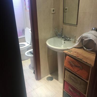 Reforma de baño  en San Cristobal ( antes 2 )