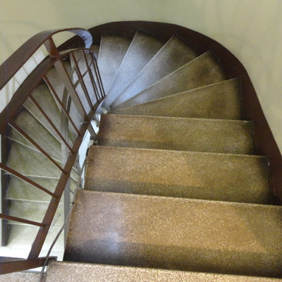 Tramo de escaleras ( antes)