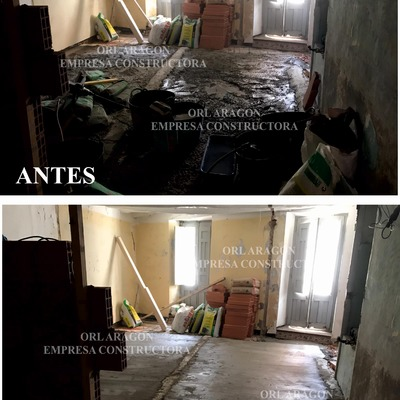 Proceso de Trabajo de Reformas Casas Rurales