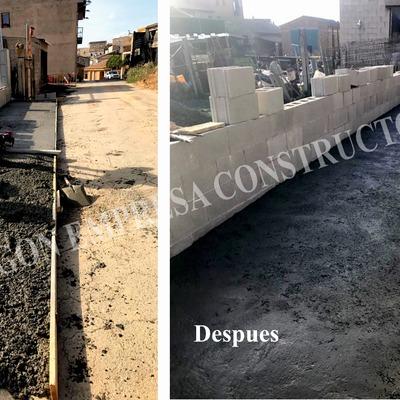 Pavimentos hormigón en Alcarrás (Lleida)