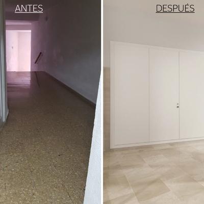 Remodelación suelos y paredes