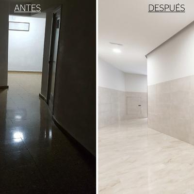 Obra zonas comunes edificio