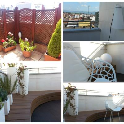 antes y después terraza vivienda