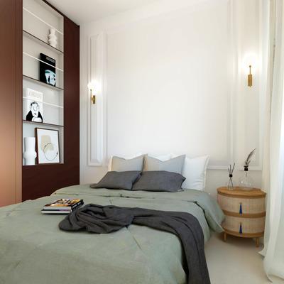 Dormitorio proyecto Borboña