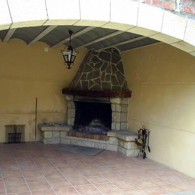 Arcada + chimenea