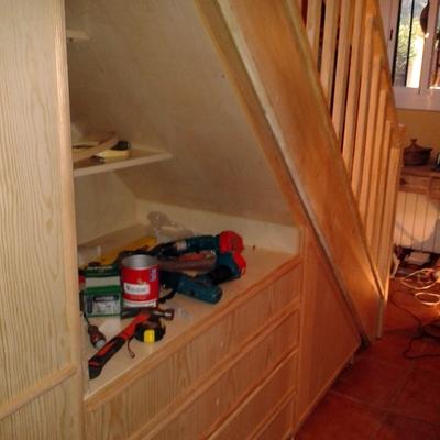 armario bajo escalera Sra. Sandra