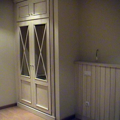 armario con aspas