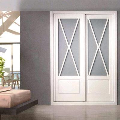armario corredera modela aspas lacado blanco